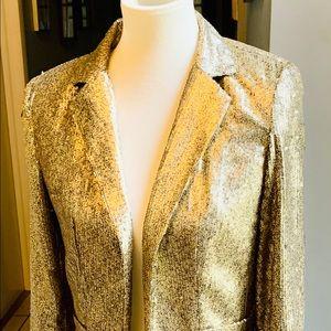 Michael Kors gold sequin jacket